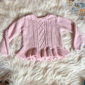 💥4/$20 Girl 4T Sweater